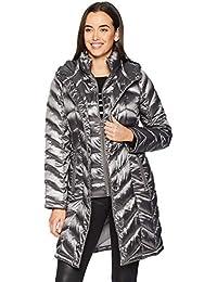 Calvin Klein Mujer CW812610 Abrigo de Plumas