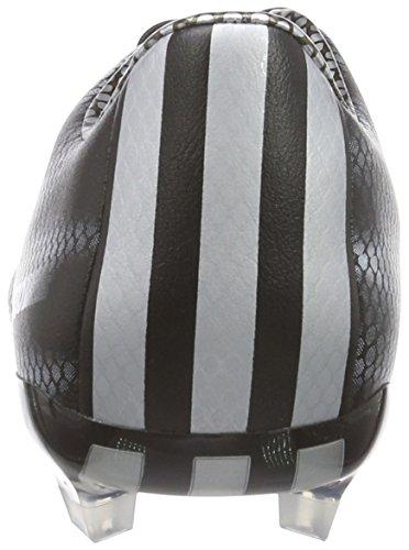 Adidas - F30 Fg Leather, Scarpa Da Calcetto da uomo Nero (Schwarz (Core Black/Silver Met./Silver Met.))