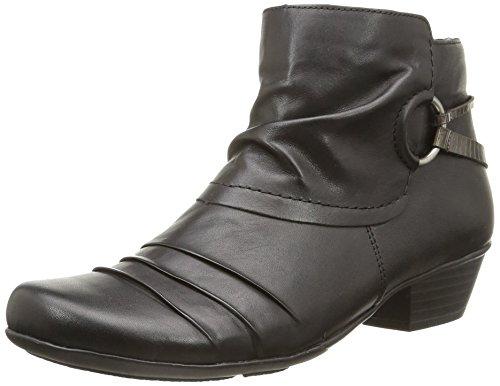 Remonte D7379 01, Bottes Classiques femme Noir (Noir Combiné)