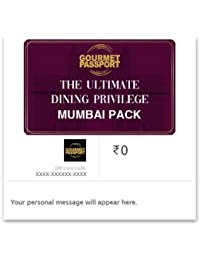 Dineout Gourmet Passport Mumbai-12 Months E-Gift Card