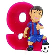 Figura Vela Barça 9 Messi