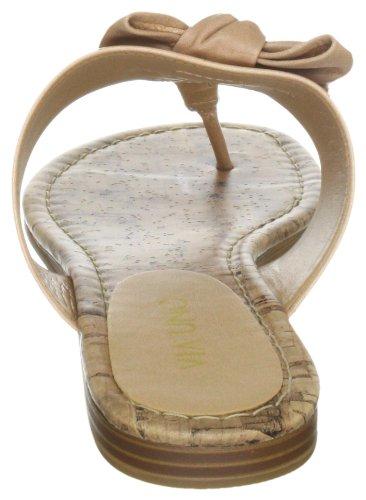 Via Uno Leather Casein 21110610 Damen Hausschuhe Beige (Duna)
