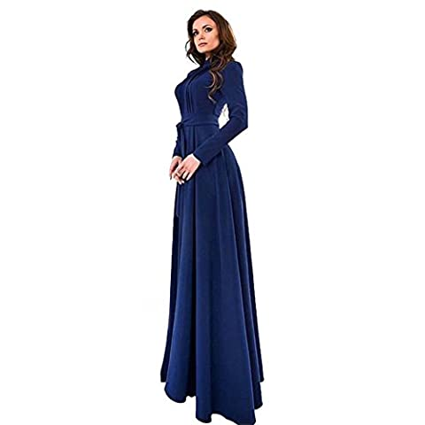 Etosell Femmes Sexy Longues Manches Long Robes De Soiree