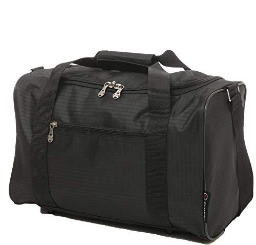 Ryanair 20L Maximal Größe des Handgepäck 40x25x20cm Bordgepäck Gepäck Tasche, Schwarz