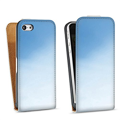 Apple iPhone 4 Housse Étui Silicone Coque Protection Tournesols Ciel Soleil Sac Downflip blanc