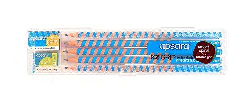 Apsara EZ Grip Extra Dark Pencils - Pack of 10
