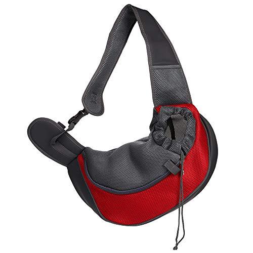 CHUER Hundetasche,Hundetragetasche,Katzentragetasche,Tragetasche Transporttasche Transportbox für Kleine Hunde und Katzen -um Ihr Tier sicher und komfortabel zu halten (Geeignet für Tiere unter 5KG)