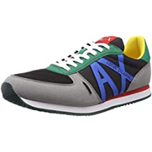 ARMANI EXCHANGE Lace Up Sneaker with Logo 40734e96a78