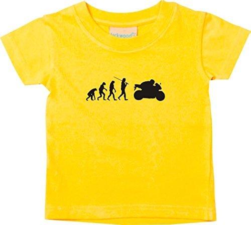 Shirtstown Kids T-Shirt Evolution Motorcycle Bike freebiken Burner Cult