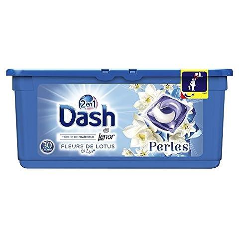 Dash 2en1 Perles Lessive en Capsules Fleurs De Lotus &