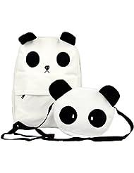 SODIAL (R) de la nueva manera del bolso lindo Panda Mochila y Bolsa de hombro