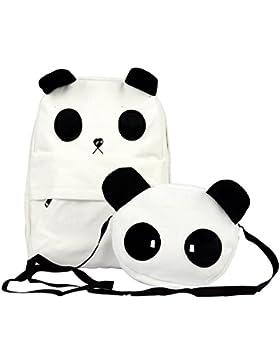 TOOGOO (R) Neue Art und Weise Nette Panda Schultasche Rucksack Umhaengetasche