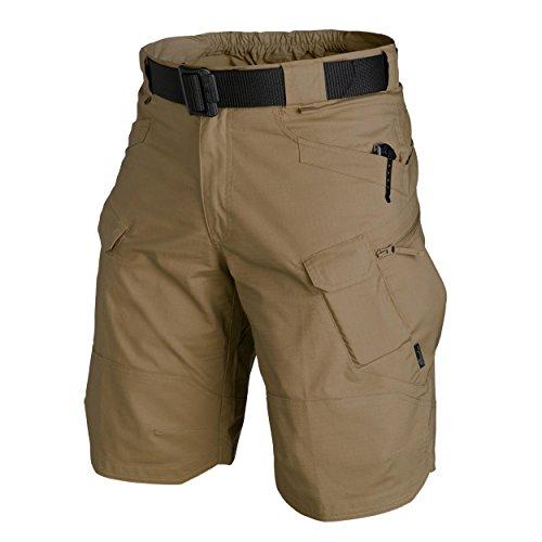 Helikon-Tex Urban Tactical Shorts® 11'' - Polycotton Ripstop - Coyote, Braun, M - 3 Ykk Hosen