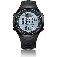Digital Angeln Barometer Uhr Thermometer mit Höhenmesser Wettervorhersage Spovan Marke Armbanduhr