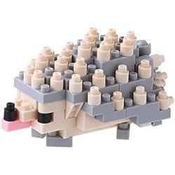 Unbekannt Nano Bloque 14940Decorativo Erizo Erizo 3D Puzzle–Mini colección, 120Piezas, Nivel de dificultad 2–Medium