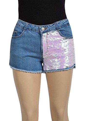 Pailletten Denim Shorts (7 Jahre) ()