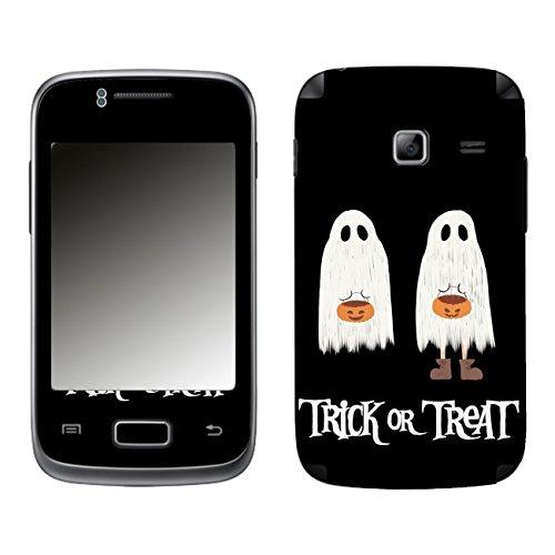 Disagu SF-104077_1217 Design Schutzfolie für Samsung S6102 Galaxy Y Duos - Motiv Halloweengeister 02