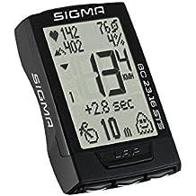 Sigma Bc23.16 STS Ciclocomputador, Unisex Adulto, Negro, Talla Única