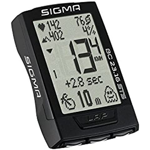 Sigma ciclocomputer 23.16 STS Set Completo