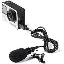 Selens Audio Micrófono Externo de Alta Definición para Gopro Hero 4 3+ 3