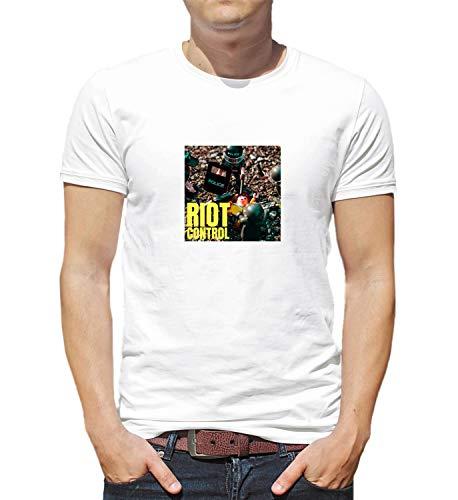 LumaShirts Police Riot Control_008812 T Shirt Tshirt For Men Man'S Funny Gift Xmas SM White T-Shirt