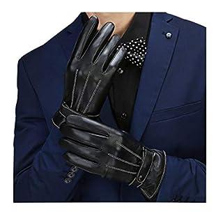 Herren Handschuhe Lederhandschuhemittouchscreen Für Party Winter Outdoor Autofa