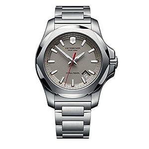 Victorinox Swiss Army Reloj Unisex de Analogico con Correa en Chapado en