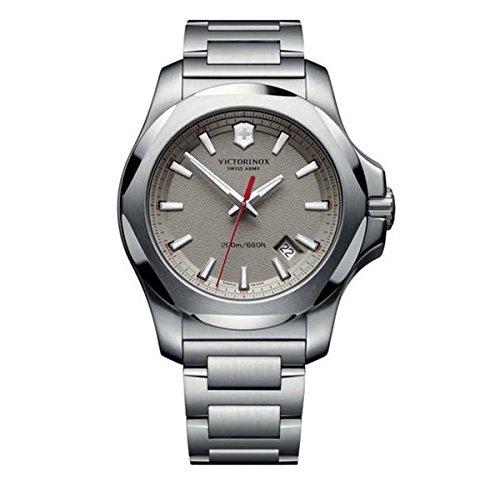 Victorinox Swiss Army Reloj Unisex de Analogico con Correa en Chapado en Acero Inoxidable 241739