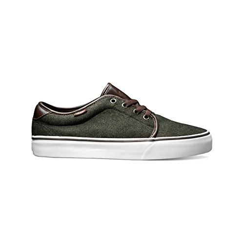 Vans 159 Vulcanized (Coated Canvas) Dress Blues Hunter Green
