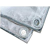 WZNING Tarpaulin Impermeable para impermeabilizar Resistencia, Chapa Impermeable Ojal del Metal Engrosada para la Cobertura de Carga de Granary Pieza de plástico 16 tamaños Durable y Protector
