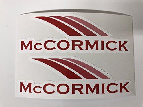 SBD Decals 2 McCormick Traktor Abziehbilder