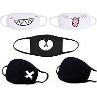 Atemschutzmaske, Staubschutz, Anime, niedlich, Kaomoji, Emoticon, Ohrschlaufe, OP-Maske, Baumwolle, Maske für... preisvergleich bei billige-tabletten.eu