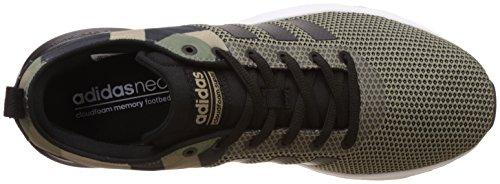 adidas Cloudfoam Super Racer, chaussure de sport homme Verde (Vertra/Negbas/Stcaqp)