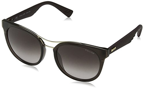 Police Sunglasses Damen Sonnenbrille Sparkle 3, Braun (Shiny Brown), 45
