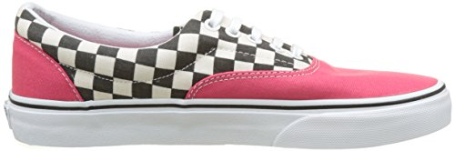 Vans Ua Era, Sneakers Basses Homme Rouge (2-tone Check Rouge Red/true White)