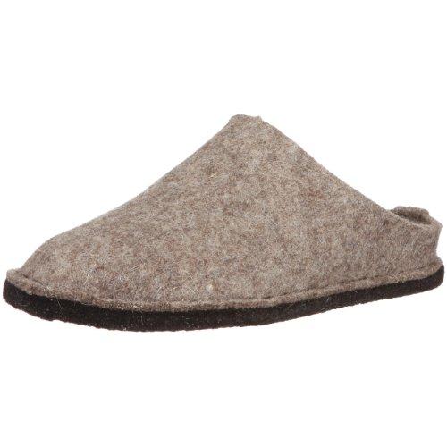 Haflinger Flair Soft, Unisex-Erwachsene Ungefüttert Hausschuhe, Beige (550 Torf), 44 EU