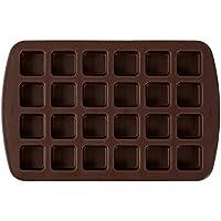 قالب سيليكون مربع بحجم صغير من ويلتون براوني بحجم كبير، 24 تجويف MINI 461146