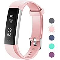 LETSCOM Fitness Tracker, Activity Tracker with Step Counter Watch and Sleep Monitor, IP67 Waterproof Fitness Wristband as Calorie Counter Pedometer Watch for Kids Women Men