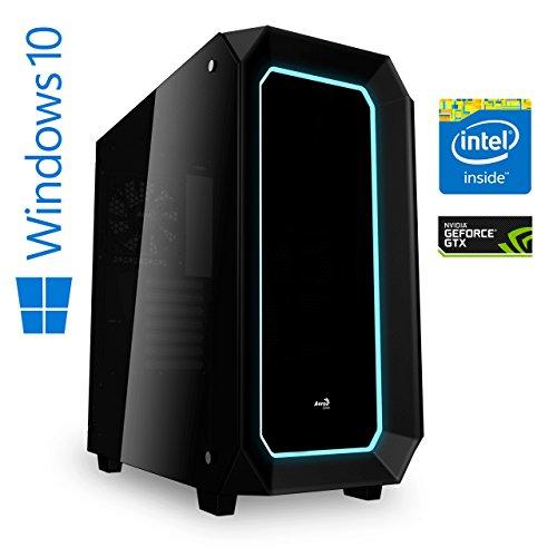 Preisvergleich Produktbild Memory PC Gaming Computer Intel Coffee Lake i7-8700K 6 x 3.7 GHz,  NVIDIA GeForce GTX 1080 8GB,  ASUS Prime Z370-P,  16 GB DDR4 RAM,  250 GB SSD,  Gaming PC Workstation Gaming-PC