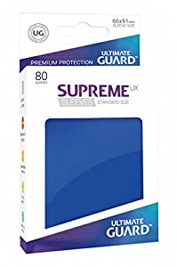 Ultimate Guard ugd010541 - Supreme UX Sleeves, tamaño estándar, Color Azul