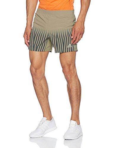 Adidas Gym Shorts (adidas Herren Shorts Power GFX 1, Trace Cargo/Trace Green, S, BK6167)