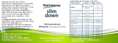 slim down | Stoffwechsel F-burner | schnell, sanft, pflanzlich & natürlich