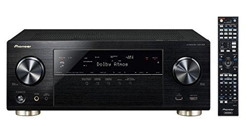 Pioneer VSX-930-K 7.2 Netzwerk-Mehrkanal Receiver (165 Watt Pro Kanal, Dolby Atmos, WiFi, Bluetooth, Ultra-HD Video Scaler, HDCP 2.2, App Steuerung, Airplay, DLNA, Spotify Connect) schwarz (Pioneer Auto-power-subwoofer)