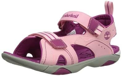 Timberland Dune Buggy 2 Strap, Unisex-Child Sandals, Light Pink/Berry, 5.5 UK Child