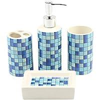 Amazon.es  jabonera ceramica - 20 - 50 EUR   Juegos de accesorios de ... 850dd92034f4