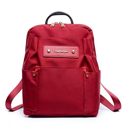 Street fashion zaino Vento Collegio/borsa a tracolla di stoffa impermeabile di Oxford/Borsa grande capacità-D D
