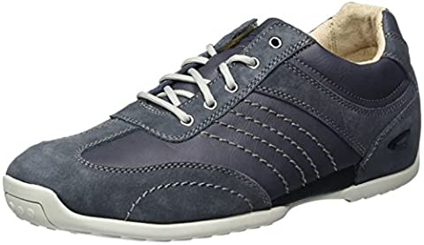 camel active Herren Space 12 Sneakers, Blau (Jeans/Navy 33), 42 EU
