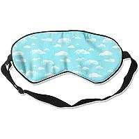 Sleep Eye Mask Cloud Blue Sky Lightweight Soft Blindfold Adjustable Head Strap Eyeshade Travel Eyepatch E2 preisvergleich bei billige-tabletten.eu