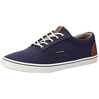 JACK & JONES Herren Jfwvision Mixed Navy Blazer Low-Top, Blau (Navy Blazer), 42 EU (Herstellergröße: 8 UK)