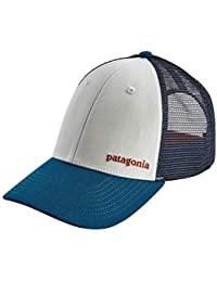 Patagonia - Baseball Cap - Small Text Logo LoPro Trucker - White 054a667b973